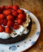flour-free chocolate cake!