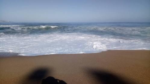 beach view finish!